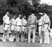History   The Singapore Scout Association