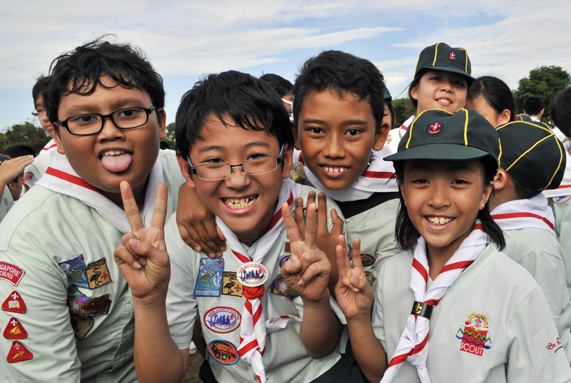 Scouts Goes on Rally!